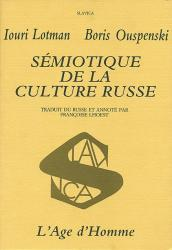 I. Lotman - Sémiotique de la culture russe