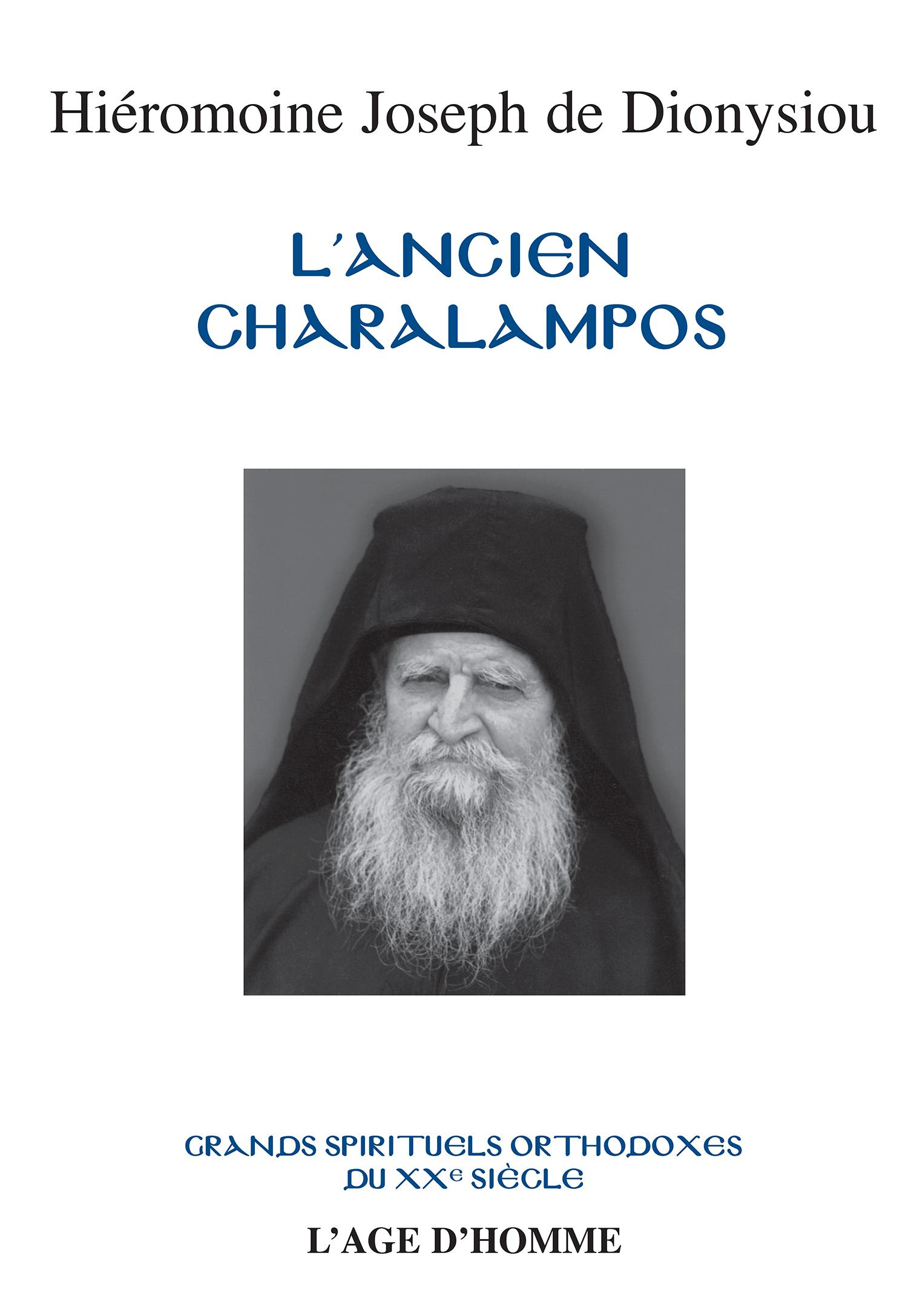 Joseph de Dionysiou - L'ancien Charalampos